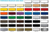 Alumn Sheeting in a wide range of colours 10' X 4'