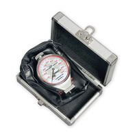 LON50546. Delux Durometer with silver case